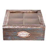 Tea box (4 compartments)