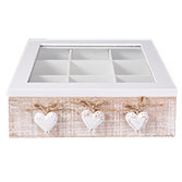 Tea box (9 compartments)