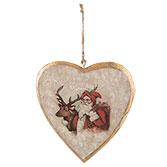 Hanger hart kerst