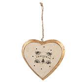 Hanger hart Christmas