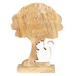 Decoratie boom met eekhoorn