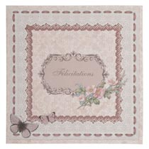 Card/paper (Félicitations)
