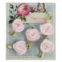 Card with charms