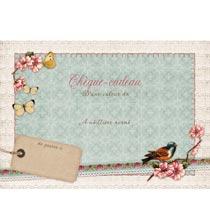 Cheque-cadeau avec enveloppe