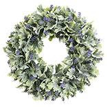 Decoratie krans lavendel
