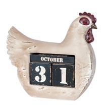 Calendar chicken