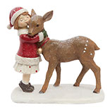 Deer with Girl