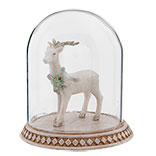 Glass cover with Reindeer