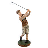 Decoration golfer