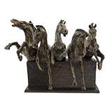 Decoratie paarden