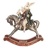 Decoratie konijnen met paard