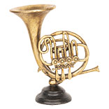 Decoratie muziekinstrument