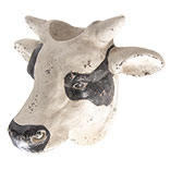 Bloempot koe hoofd
