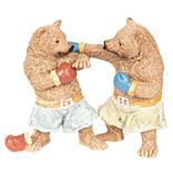 Decoratie boksende beren
