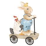 Decoratie konijn op step