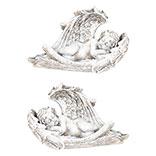 Decoratie engel ( set 2 )