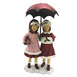 Decoratie kinderen met paraplu