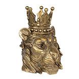 Decoratie leeuwen hoofd
