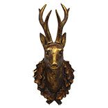 Decoratie hert