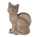 Decoratie vos met onderzetters (4)