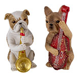 Decoratie honden (set van 3)