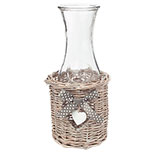 Basket with decanter