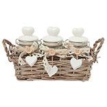 Basket with storage jar (3)