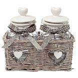 Basket with storage jar (2)