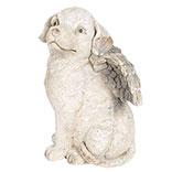 Decoratie hond met vleugels
