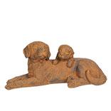 Decoratie honden liggend
