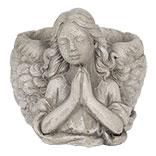 Bloempot engel