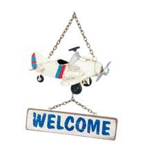 Vliegtuig welkom