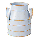 Decoration milk churn