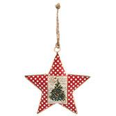 Hanger ster kerstboom