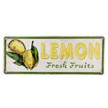 Tekstbord lemon