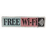 Tekstbord free wifi