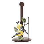 Keukenrolhouder met vogel
