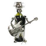 Flessenhouder gitarist