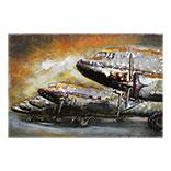 Wanddecoratie Vliegtuig