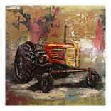 Wanddecoratie Tractor