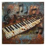 Wanddecoratie (Piano)