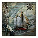 Wanddecoratie (Zeilboot)