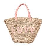 Boodschappen/strandtas Love
