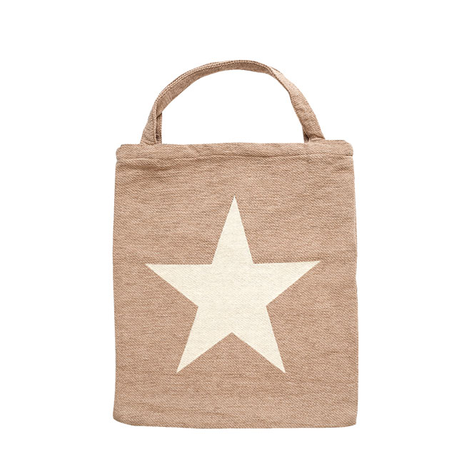Shopper Star Beige