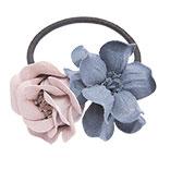 Haarelastiekje Bonita pink blue
