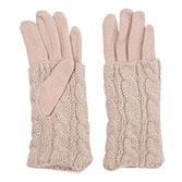 Handschoen set knitted Laurie