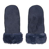 Handschoen set faux fur