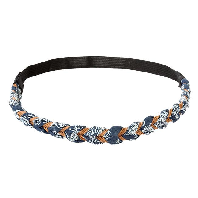 Haarband Ziggy blue