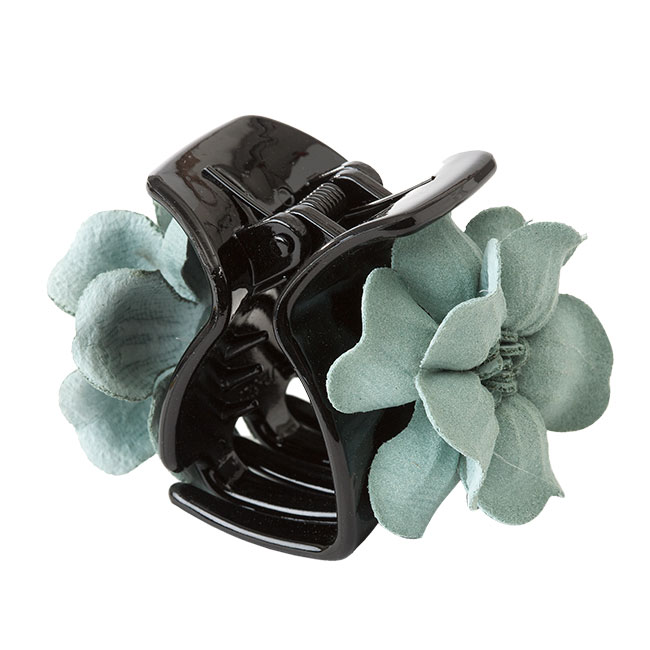 Hairclip Daisy light green