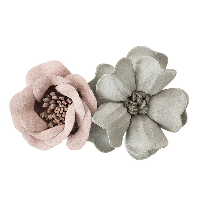 Haarklem Bonita pink grey